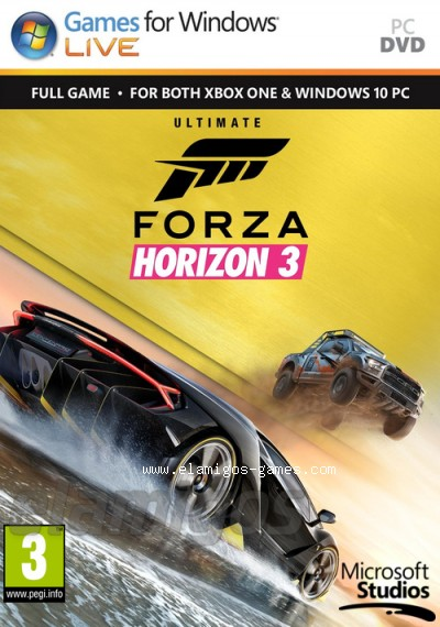 forza horizon 3 torrentle indir
