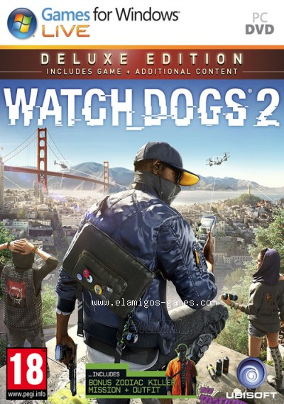 Download Watch Dogs 2 Deluxe Edition [PC] [MULTi17-ElAmigos